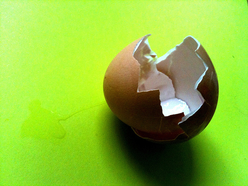 """Egg Crack"" by WiredCanvas"