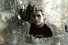 """Behind Broken Glass"" by Hzopak"