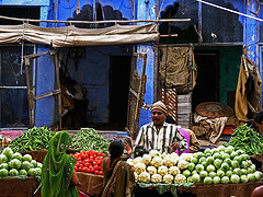 """In the Jodhpur Market"" by Zé Eduardo..."